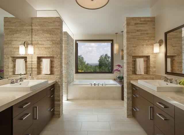 Deckenventilator Badezimmer ~ Bambus deko bambusstangen ideen badezimmer einrichtung dunkles