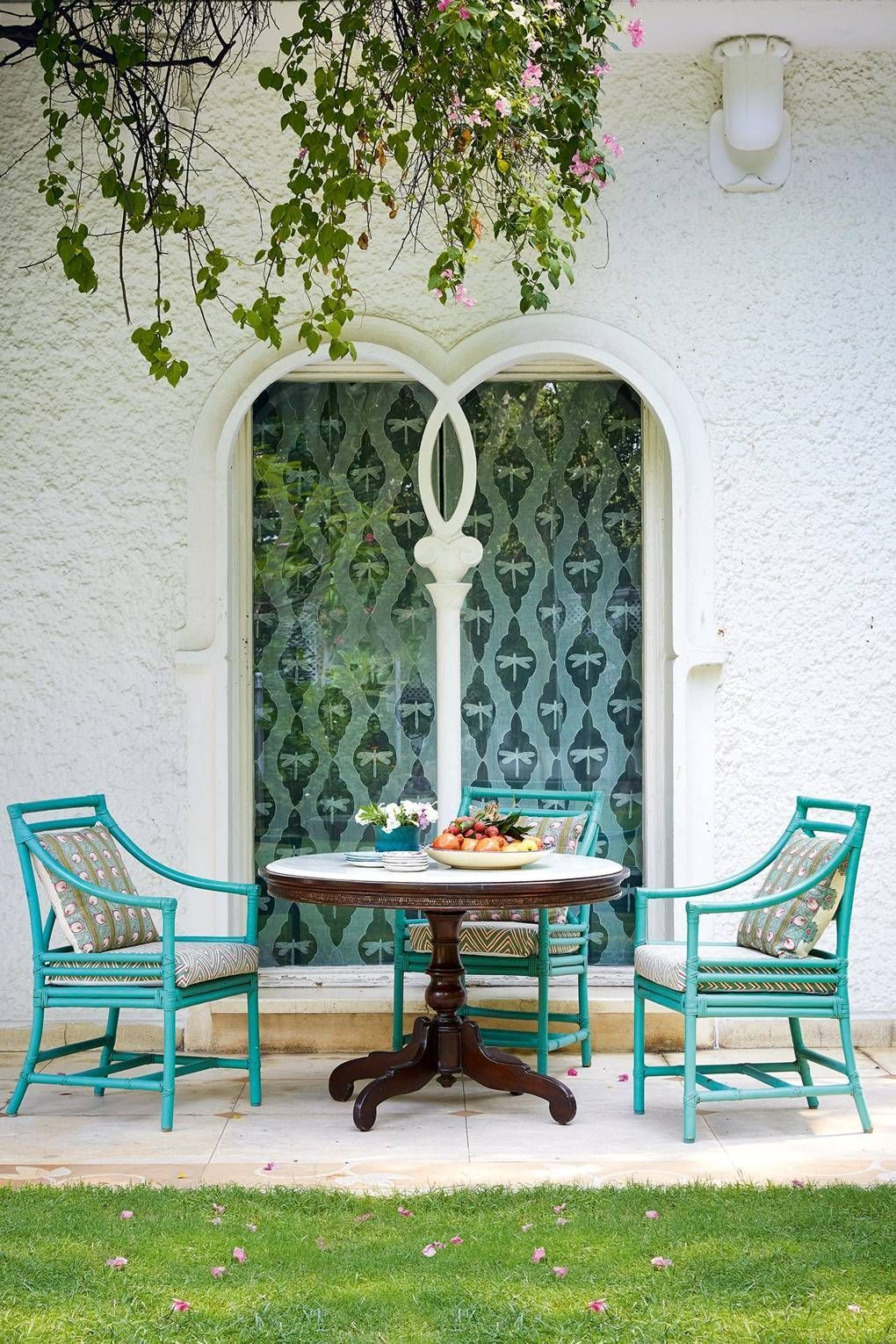 Outdoor Seating Area Colours Of India Outdoorideasseating
