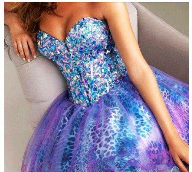Prom dress . Sparkle