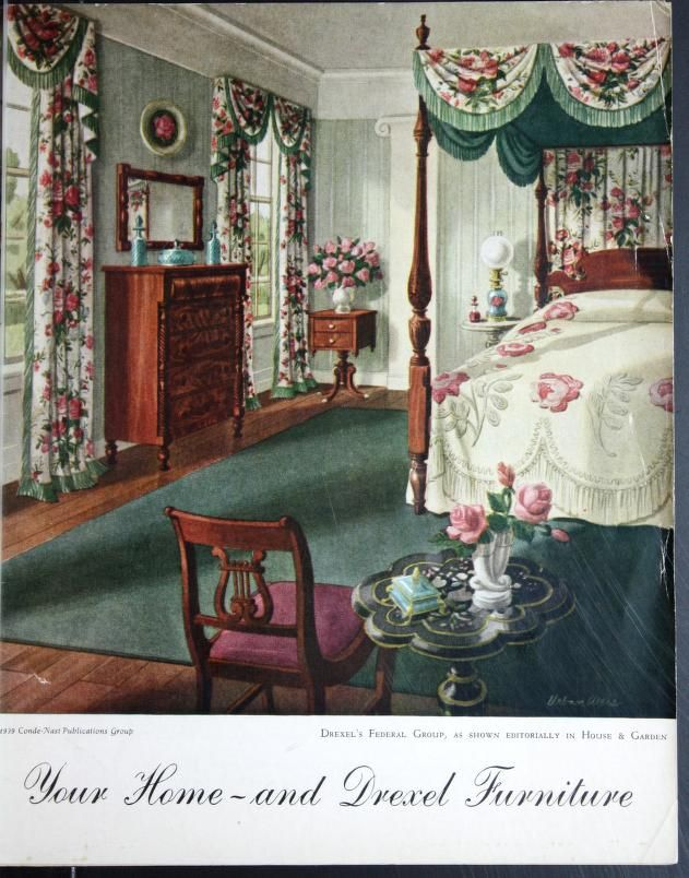 Your home-- and Drexel furniture catalog 1939 | 1920s, 1930s ...