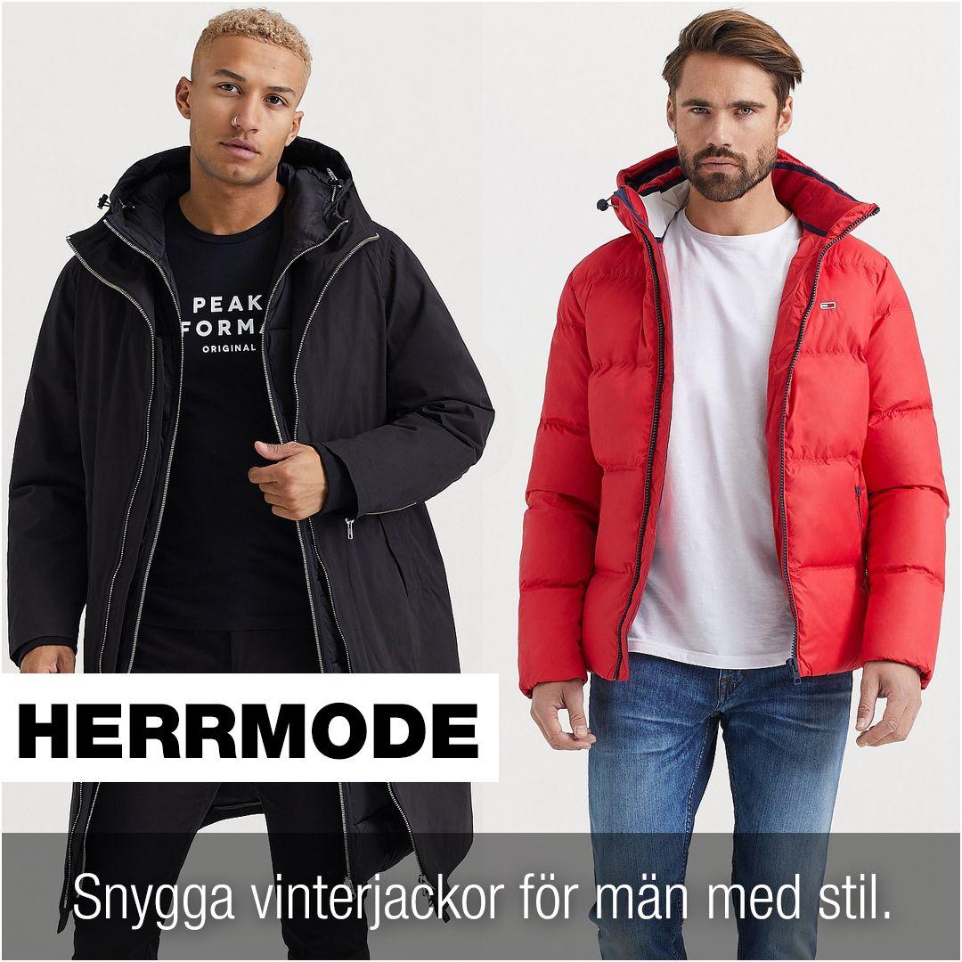 Jackor Män 2020   Stora Vinterjackor Herr   Styleitaly.se