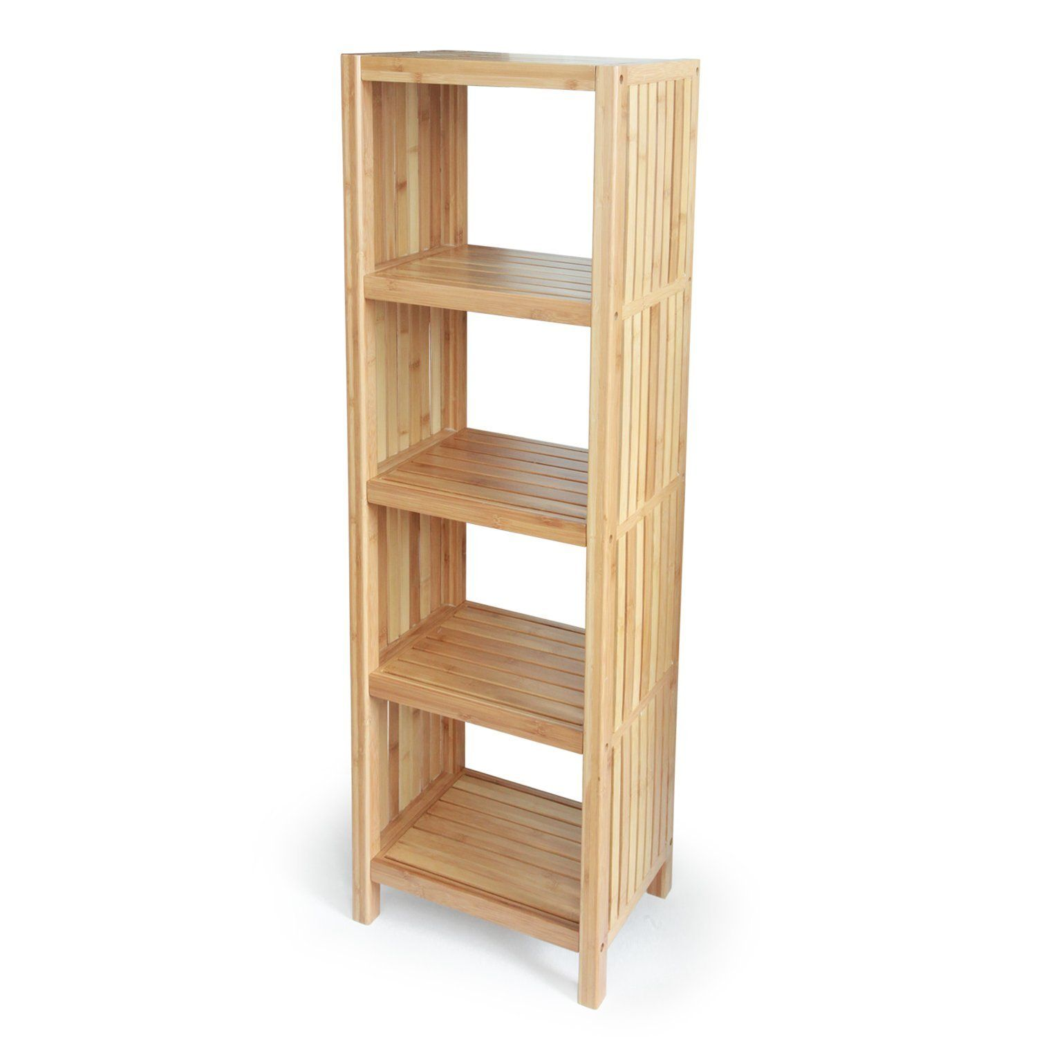 Bamboo Freestanding Organizing Shelf Only At $6995
