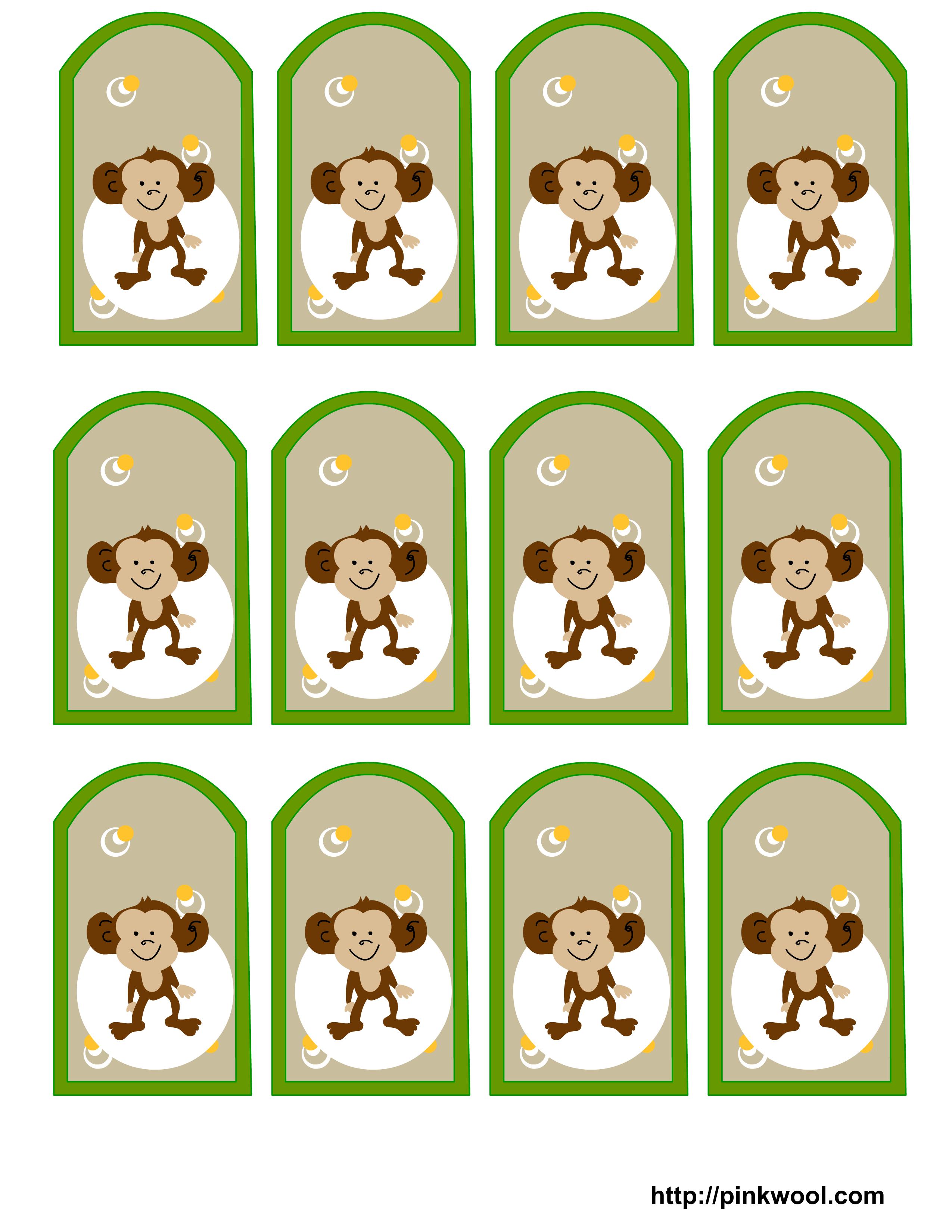 Image detail for Free Printable Jungle Safari themed baby