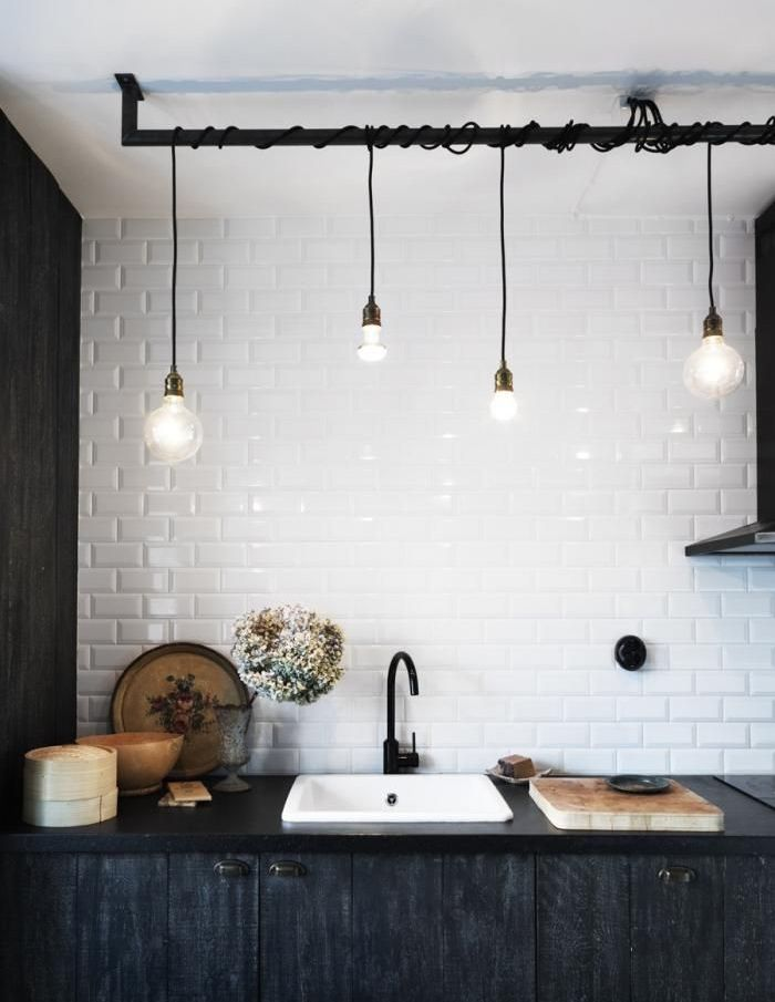 hanging kitchen lighting. Pendant Lighting Kitchen | \u003c3 Pinterest Kitchens, Industrial And Hanging