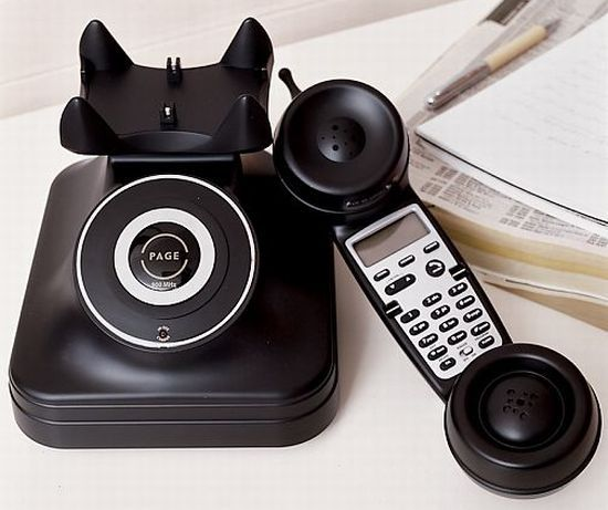 Cordless Retro Phones