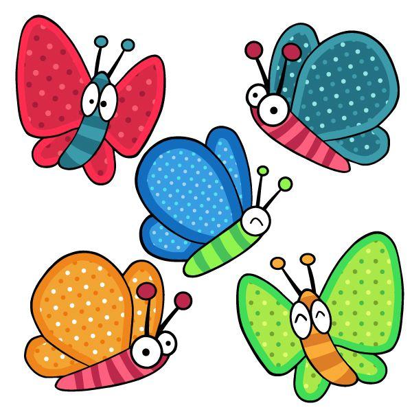 vinilo mariposas azules