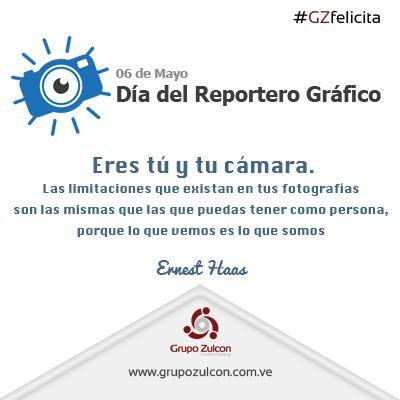 06 de Mayo. Día del Reportero Gráfico en Venezuela