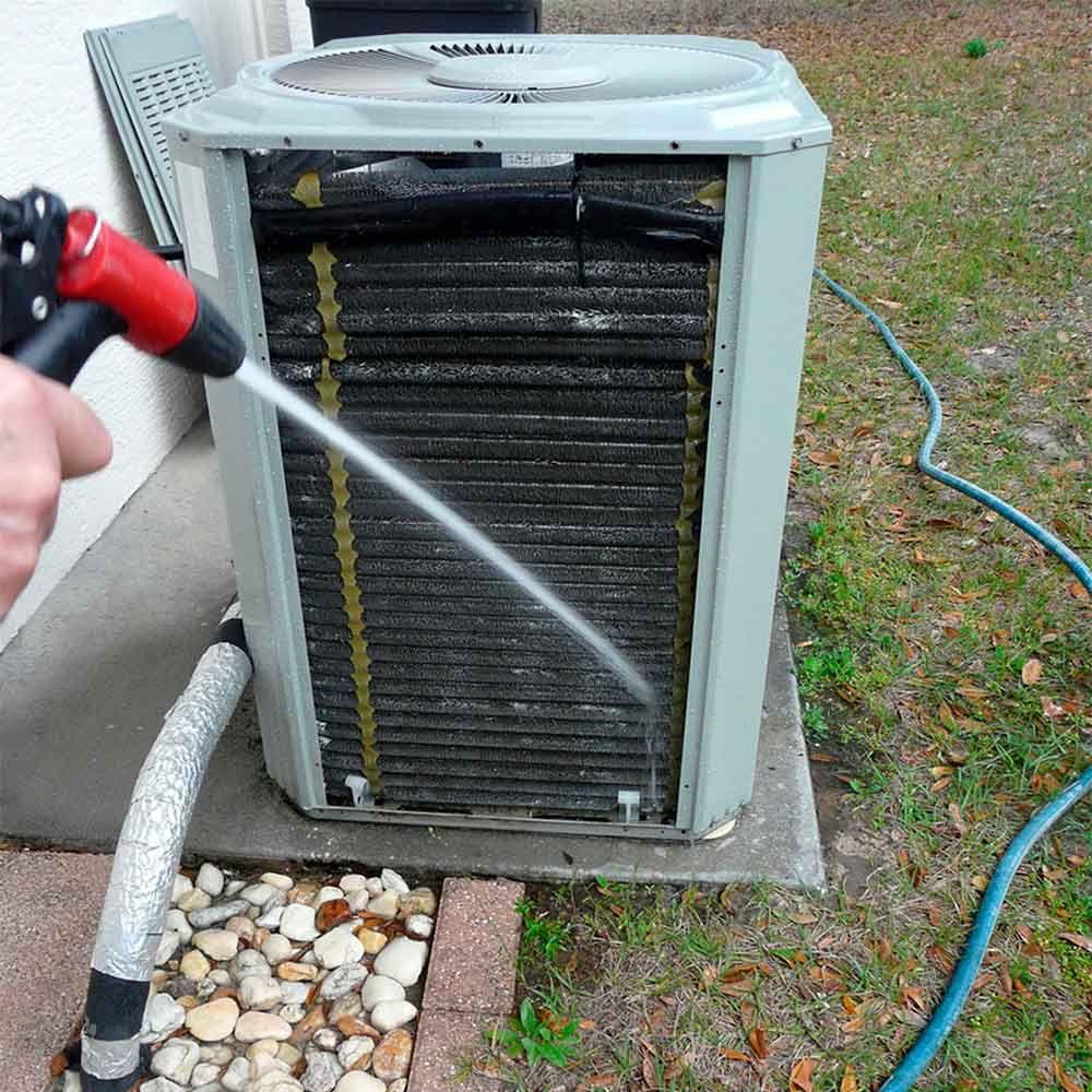 diy central air conditioner maintenance