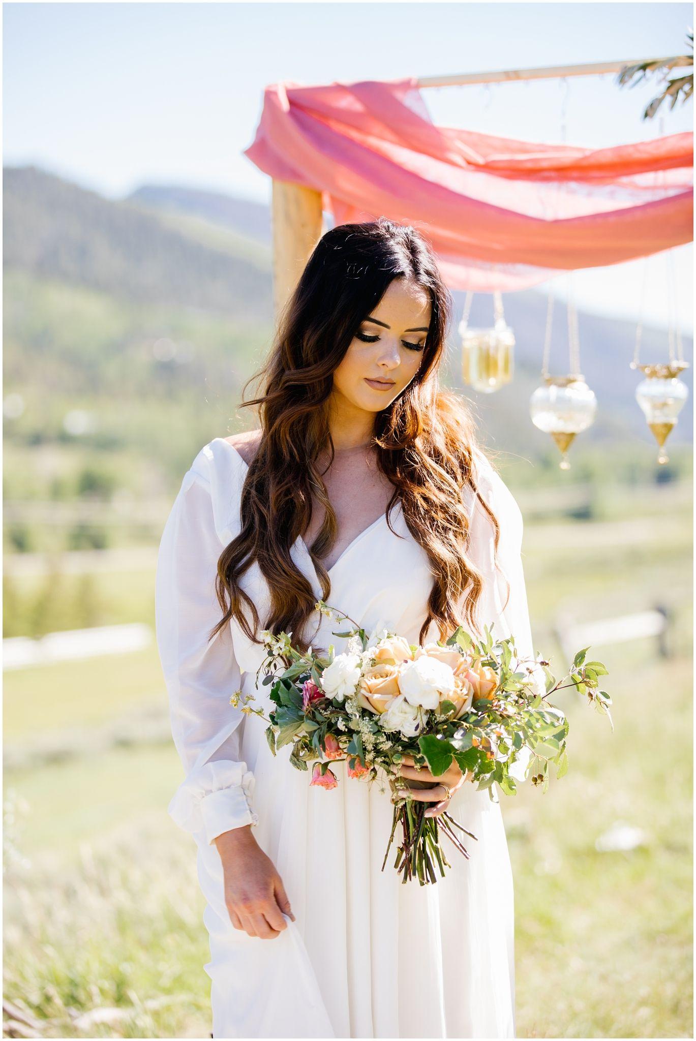 Park City Weddings Bridal Photography Utah Wedding