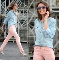 40 Ideas De Palo De Rosa Ropa Moda Pantalon Rosa Pastel