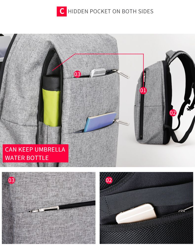50 Anti with Theft Your at up phoenixgadgets Backpack Get OFF to 10qU6wZfa