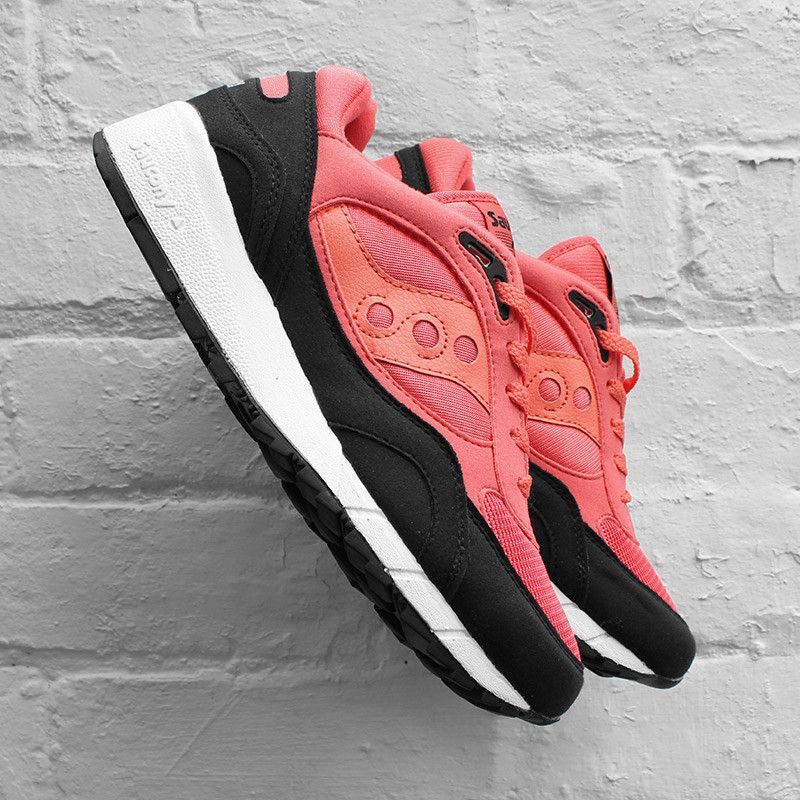 pretty nice 8dbf3 b645f Saucony Shadow 6000 Coral Black | Street Outfit 50 in 2019 ...