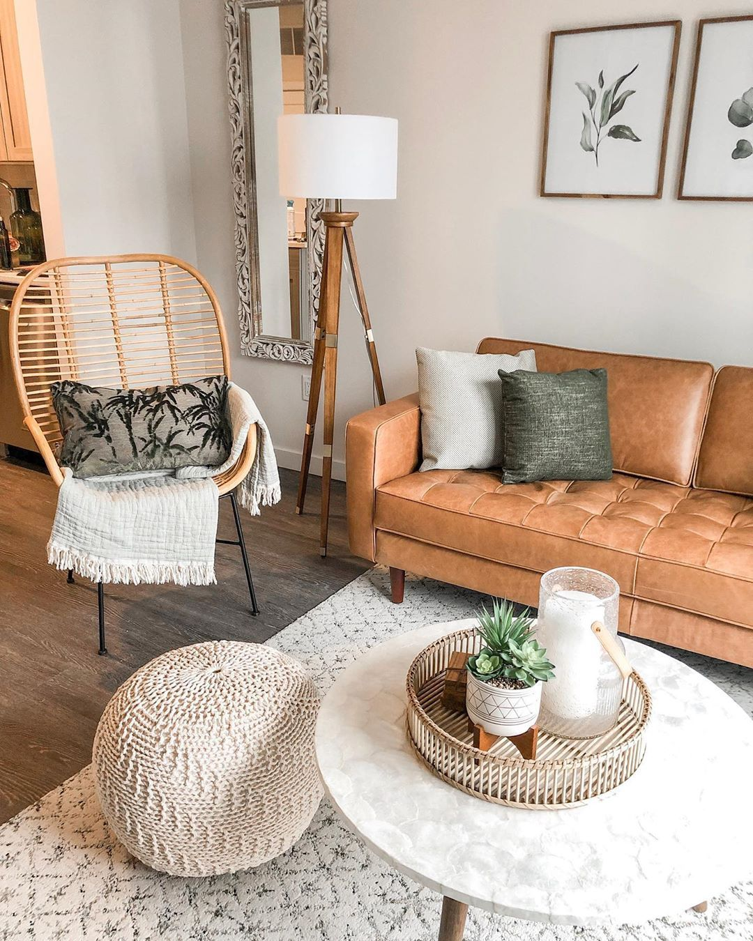 Natural Tones And Textures Make This Airy Space The Perfect Place To Relax This Weekend Thanks For Sha Living Room Inspiration Room Inspiration Home Decor #textures #for #living #room