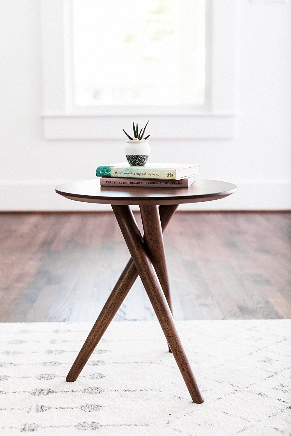 Beau Amazon.com: EDLOE FINCH   Gus Small End Table For Living Room   Mid