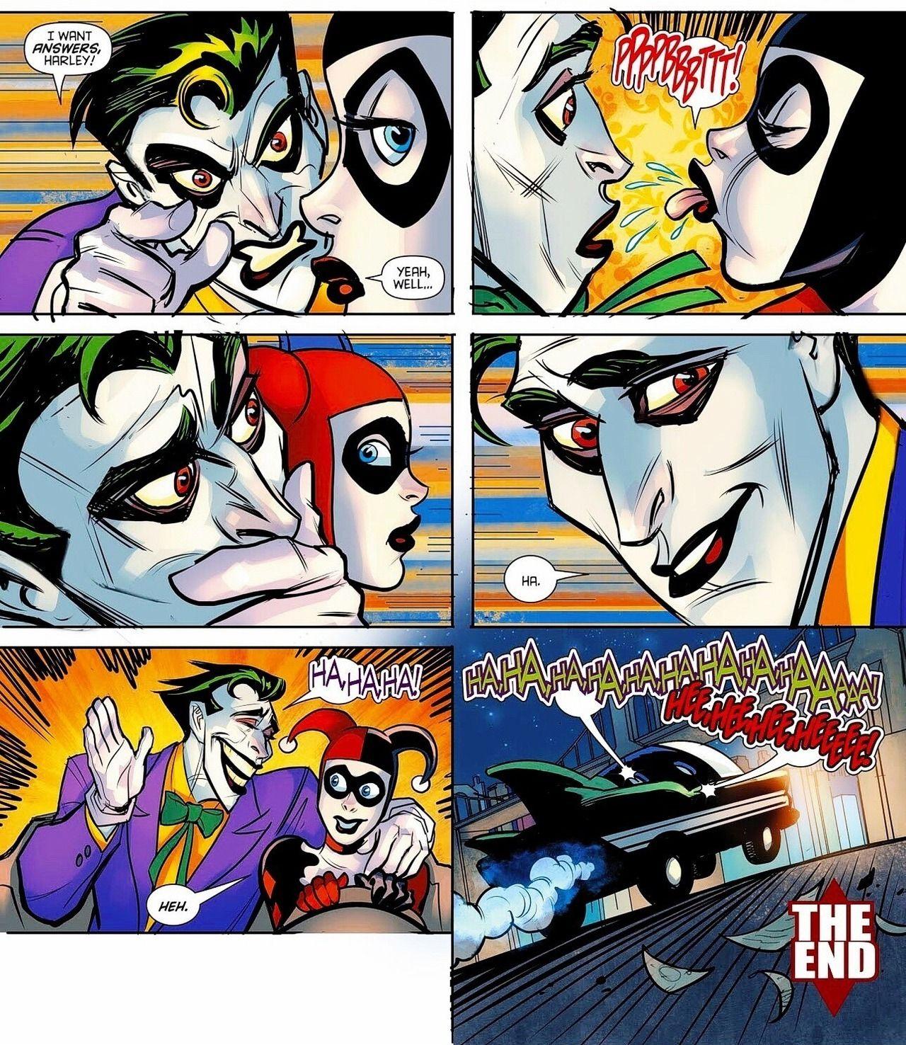 """72c518813465 jarleysource  """"The Joker   Harley Quinn in Harley Loves Joker  2 (May 2018)  """""""