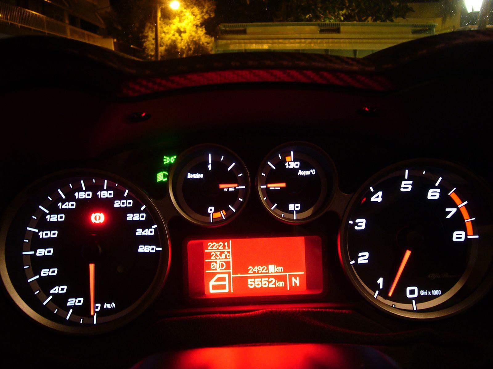 Alfa Romeo MiTo by night Alfa Romeo Greece Pinterest