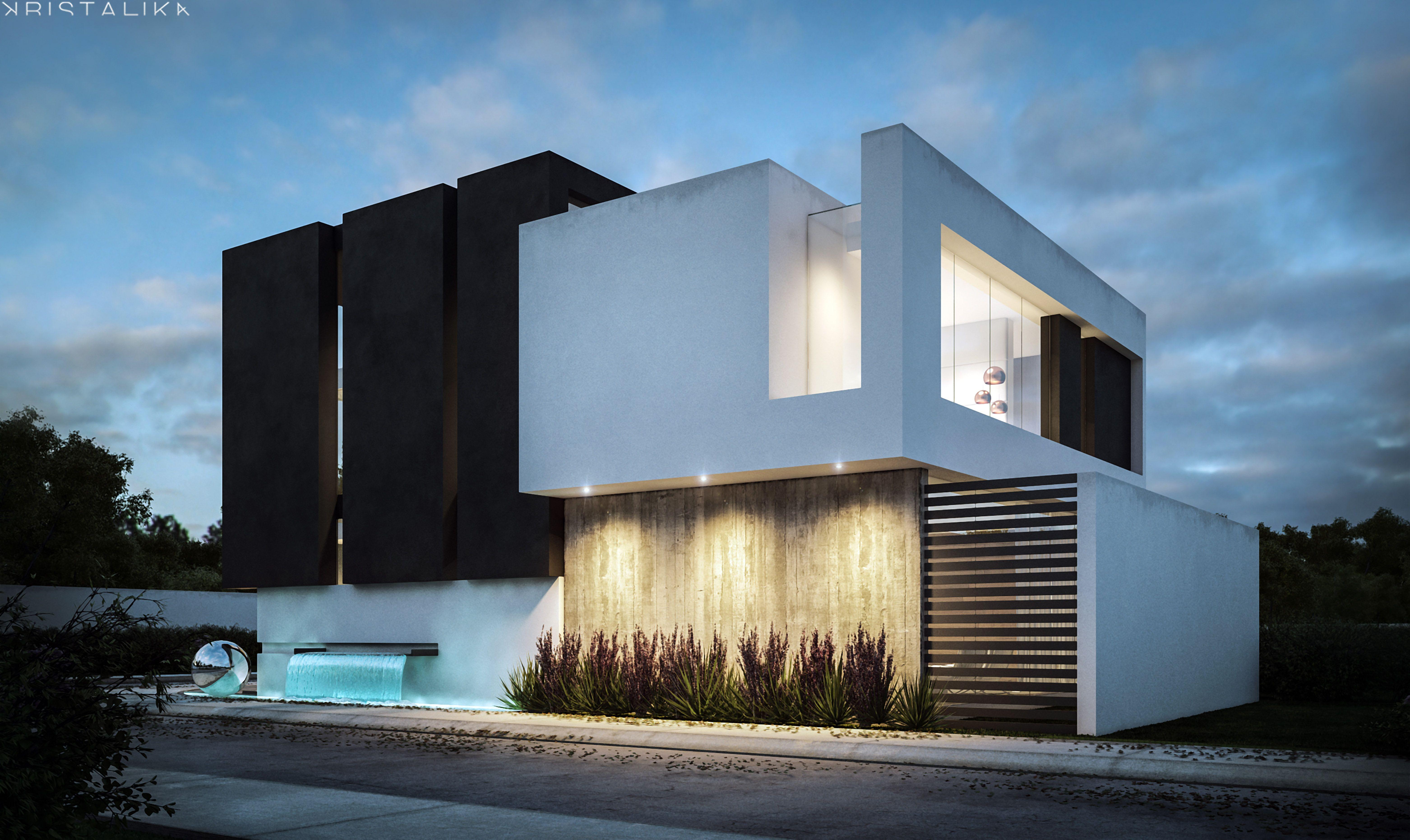 Imagen relacionada arquitectura casas modernas for Casa de arquitecto moderno