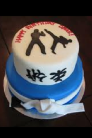 Martial Arts Birthday Cake Created By Tootsweets Cupcakery