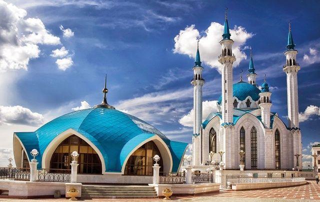 مساجد آسيا الوسطى روح الإسلام متجس دة في روائع المعمار Laha Magazine Beautiful Mosques Beautiful Buildings Amazing Buildings