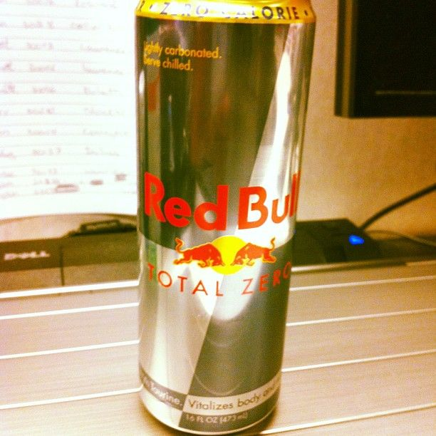 Red Bull Total Zero - no carbs, no sugar, no calories
