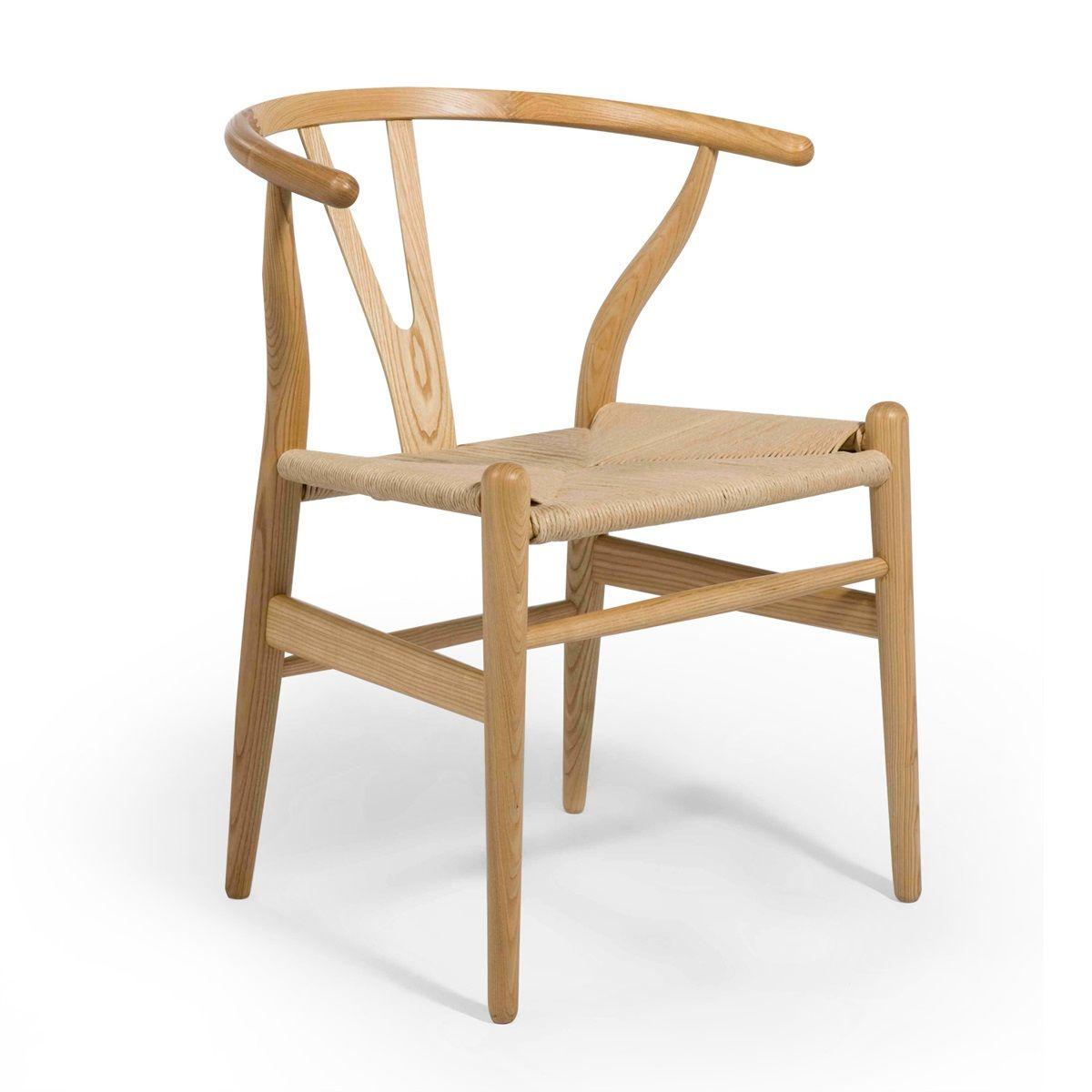 Hans wegner ch24 wishbone chair set of 2 wishbone
