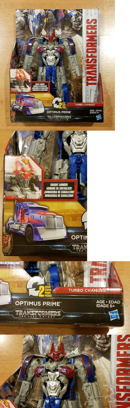 Transformers Optimus Prime Knight Armor Turbo Changer The Last Knight 2016 MOC