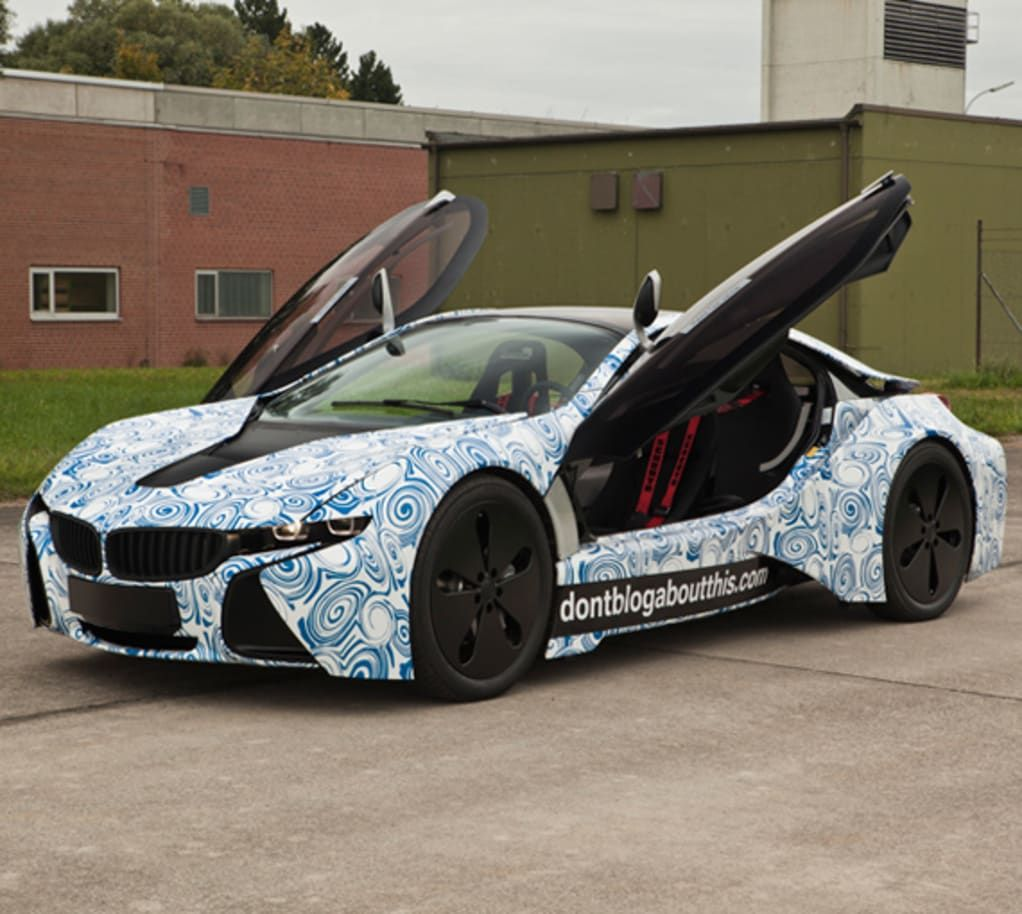 BMW Vision EfficientDynamics Concept In Mission Impossible