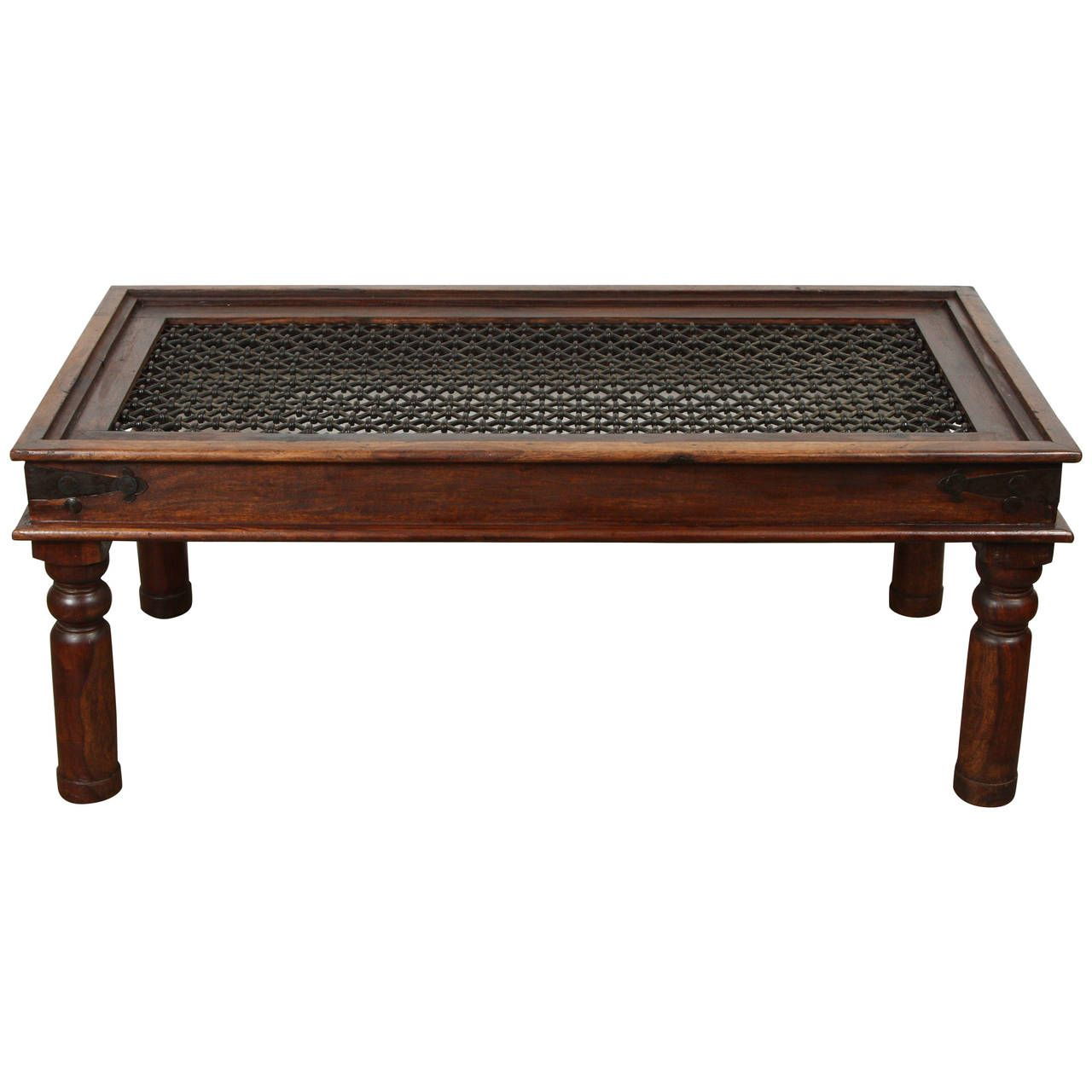 Anglo Indian Coffee Table With Iron Coffee Table Indian Coffee