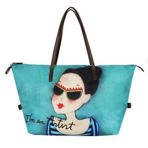 """bag by Youk Shim Won (who also is the artist behind Kim Mi Young's work in """"Fated to Love You"""" - Korean version)."""