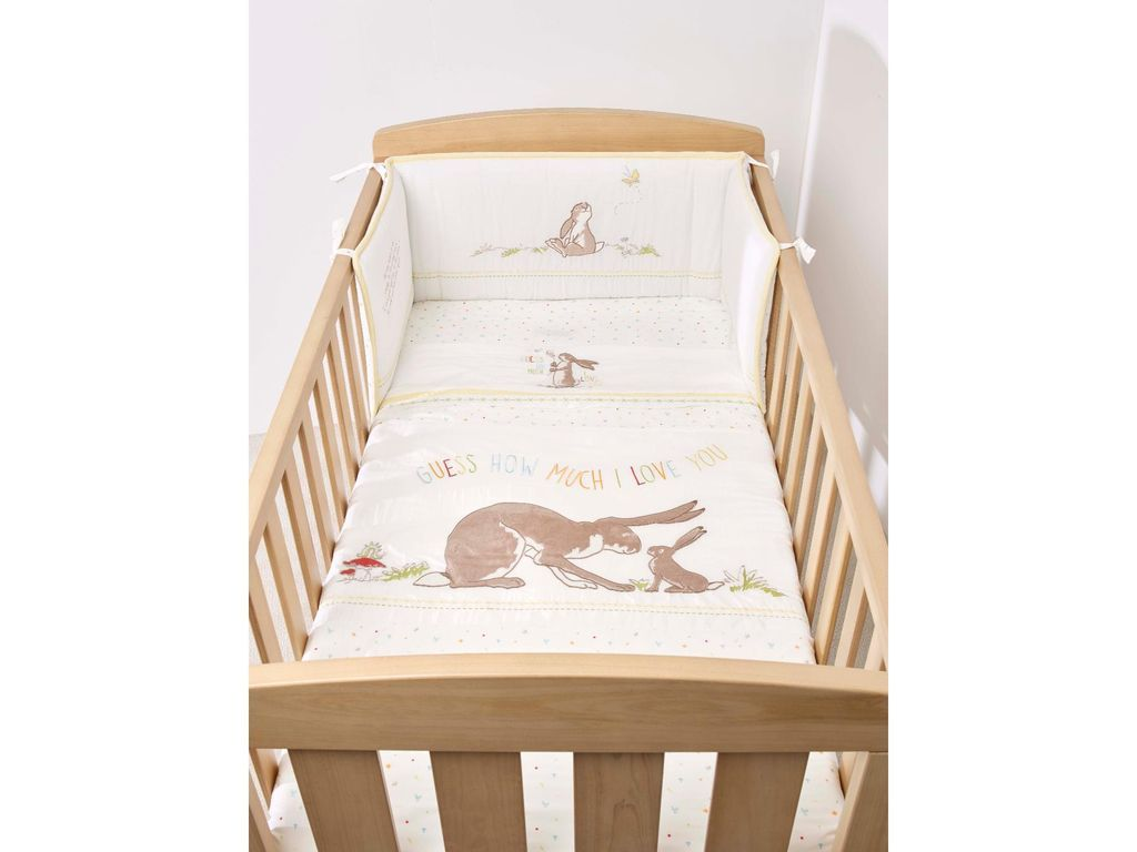 Guess how much i love you 4 piece cot bed set cot