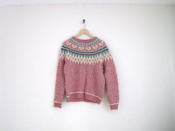 vintage 1980s woolrich fair isle sweater / by helloambition ...