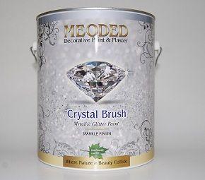 The new it thing glitter diy decorating glitzerw nde dekoration wandfarbe - Wandfarbe gold glitter ...