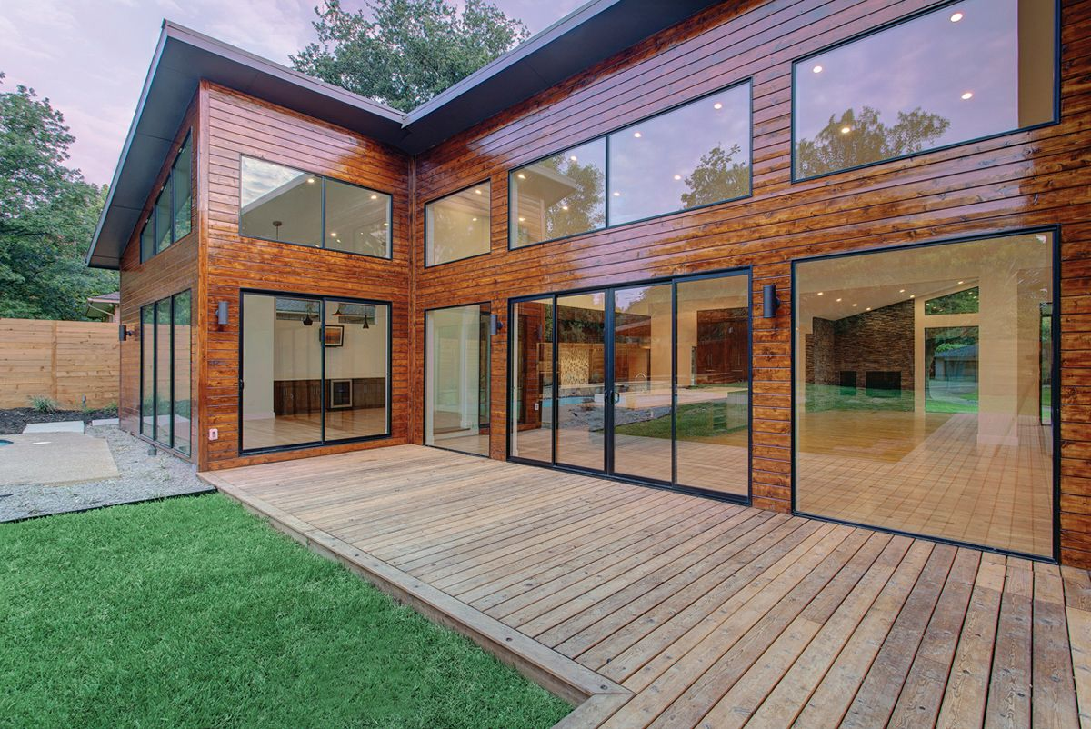Popular With Architects, Aluminum Patio Doors Help Accentuate The Clean  Lines Of Modern Design.