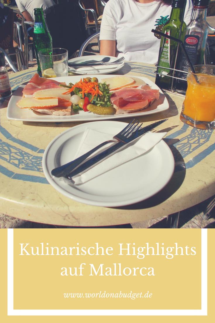 Mallorca hat eine Fülle an tollen Restaurants. Und da wir gerne lecker schmausen, haben wir dir unsere kulinarischen Highlights auf Mallorca zusammengesucht. Alle eignen sich auch für ein kleineres Budget. Von mallorquinisch bis Geheimtipp.