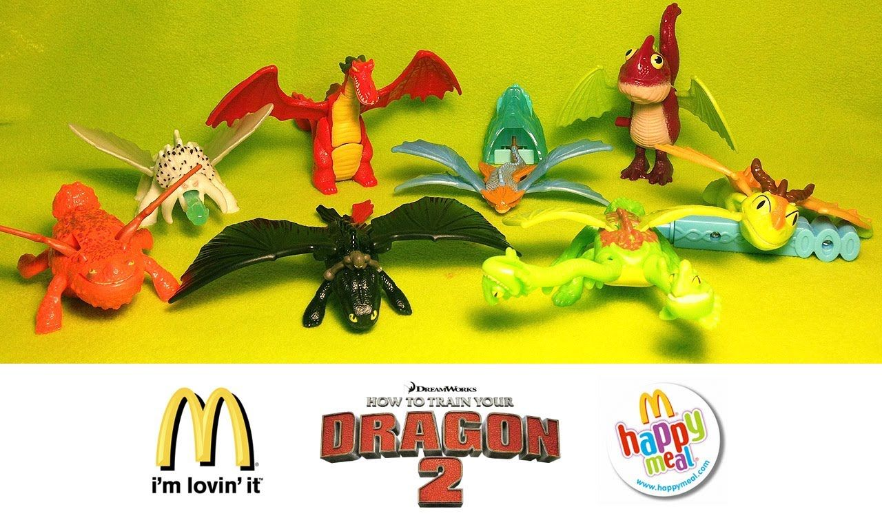 How To Train Your Dragon 2 Mcdonald S Happy Meal 2014 Complete Set Unboxing Happy Meal Mcdonalds How To Train Your Dragon Happy Meal