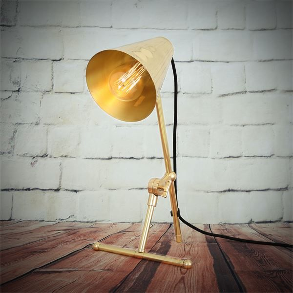 Moya Modern Adjustable Brass Table Lamp Lamp Table Lamp Brass Table Lamps