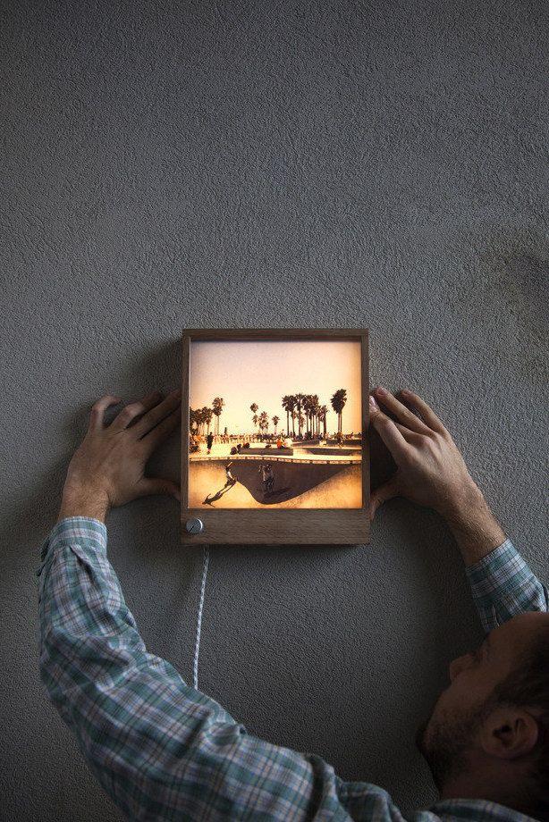 Frameworks One Backlit Frame Picture Frame Designs Wooden Picture Frames Wood Photo Frame