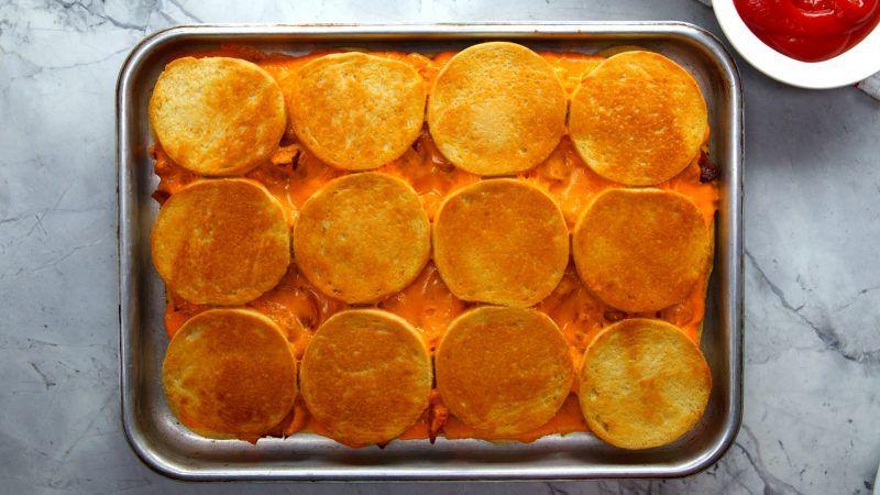 Sheet Pan Bacon Egg Cheese Sandwiches Recipe In 2019