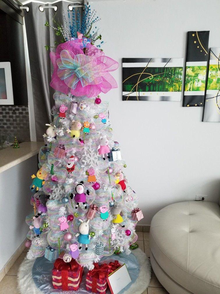 peppa pig christmas tree ideas para arboles de navidad tiempo de navidad peppa pig