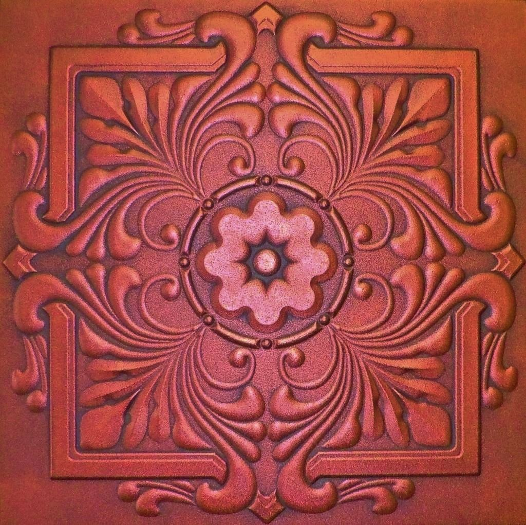 R22 antique copper extruded styrofoam ceiling tile 20x20 copper r22 antique copper extruded styrofoam ceiling tile 20x20 euro deco ceilings dailygadgetfo Image collections