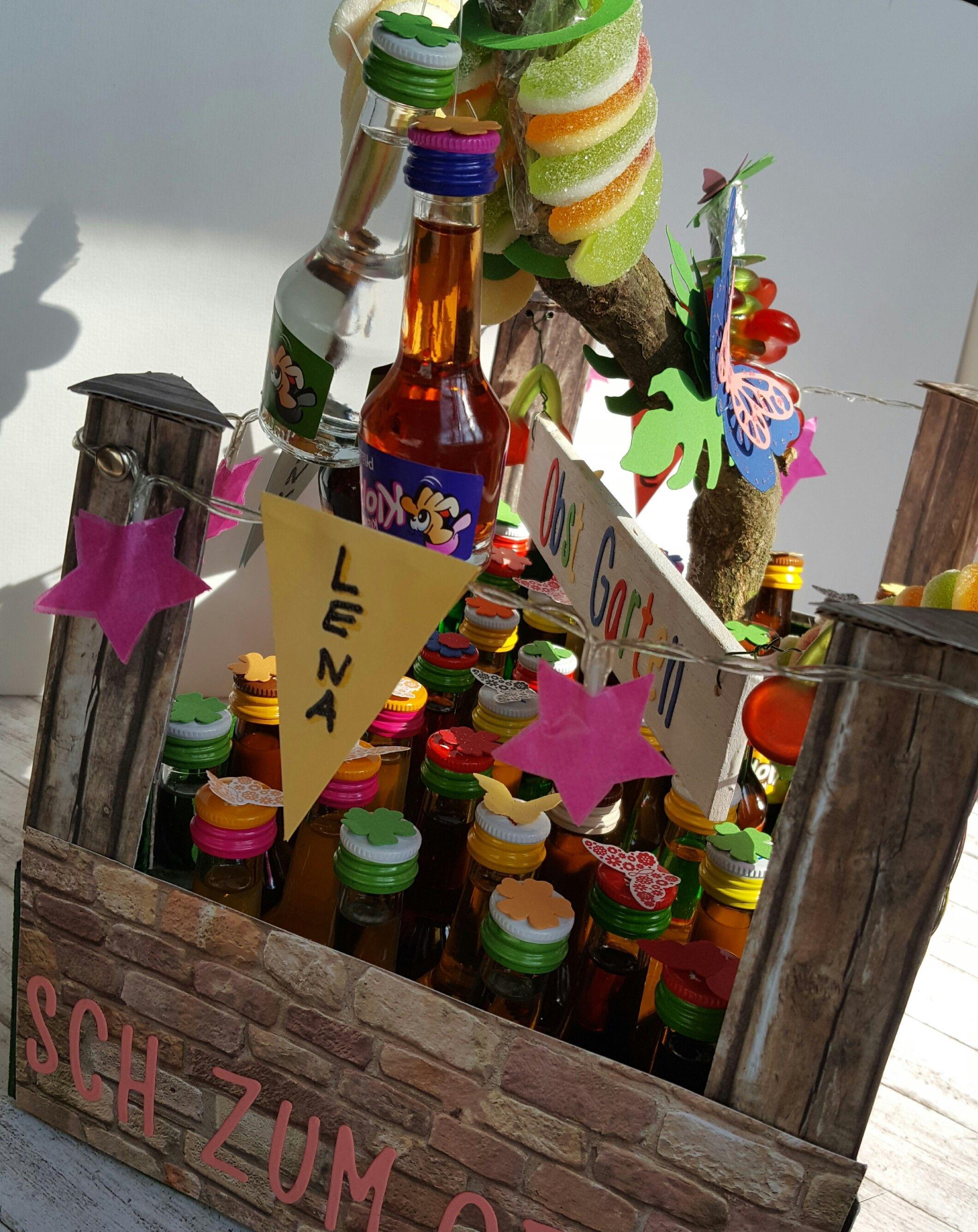 Kleine Schnapse Klopfer Zum Geburtstag Dekorativ Verpackt