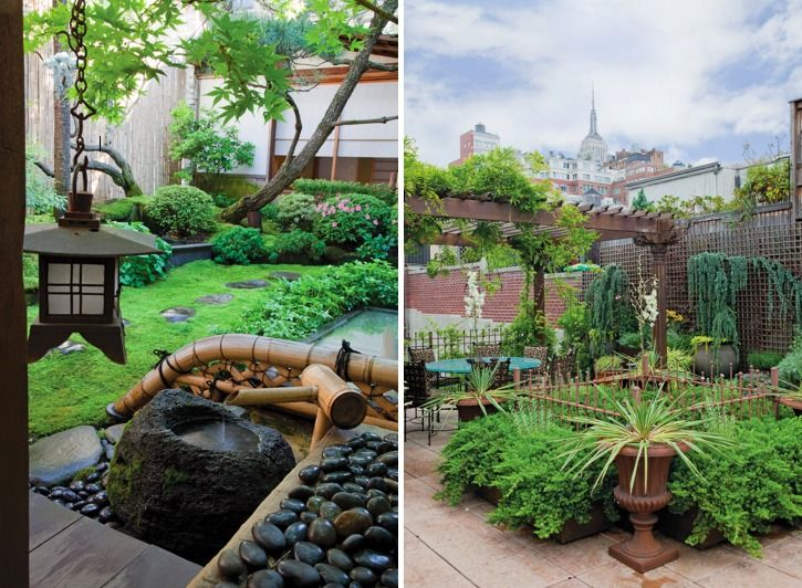 New York Garden Design rooftop garden designers nyc terrace custom planters by ny plantings contemporary landscape Japanese Garden Design Featured In Sky Gardens One Coffee Table Book Reveals
