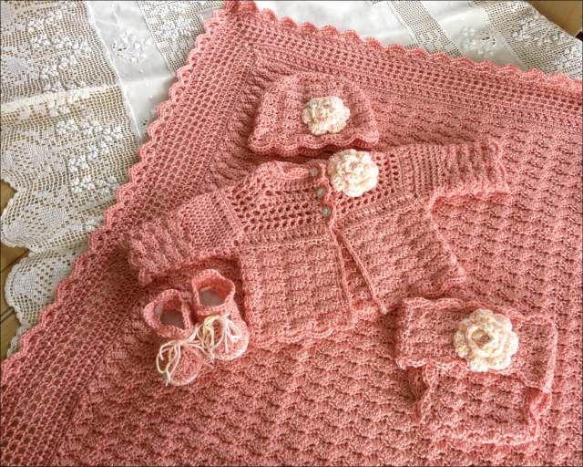 30 Beautiful New Crochet Design 2018 Layette Pattern Baby Layette