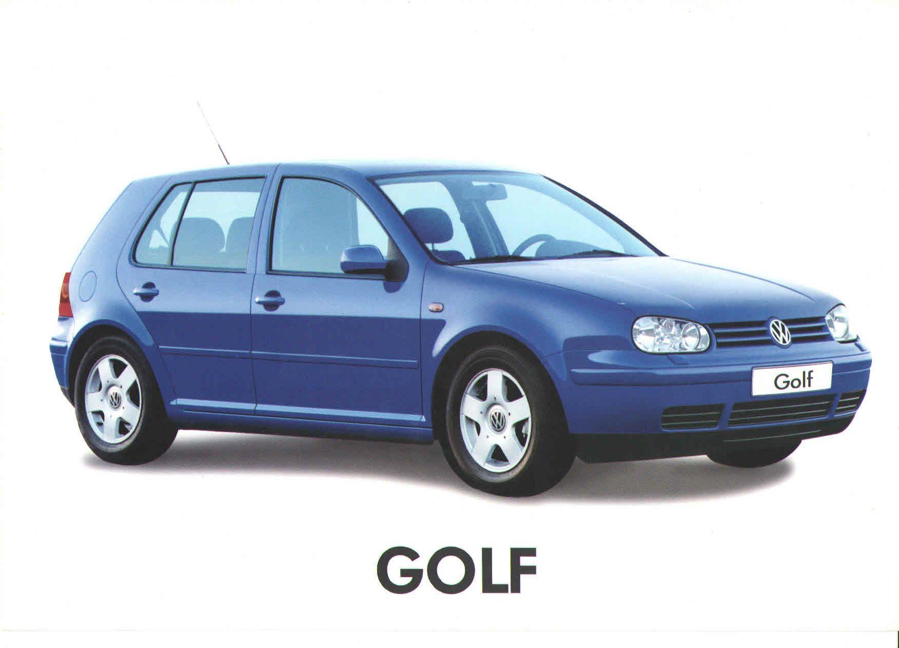 1999 volkswagen golf mk4 turkish brochure catalog page 1 2 1999 volkswagen golf