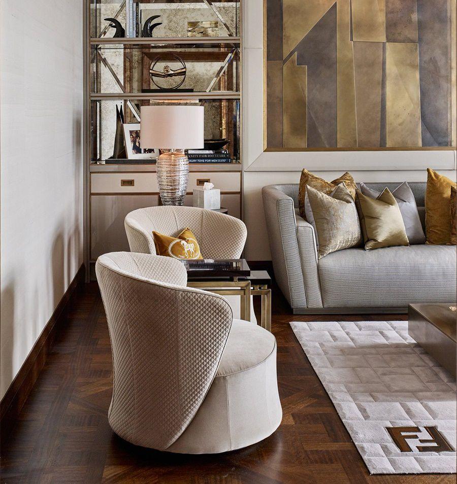 Glamorous Studio Apartment Ideas: Tailored Interior Design Overlooking Hyde Park