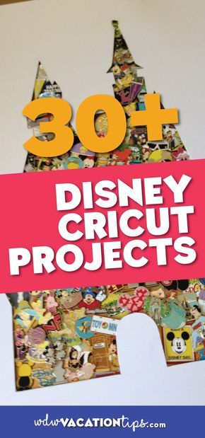 32 Disney Cricut Projects You Need to Make! #disneycrafts