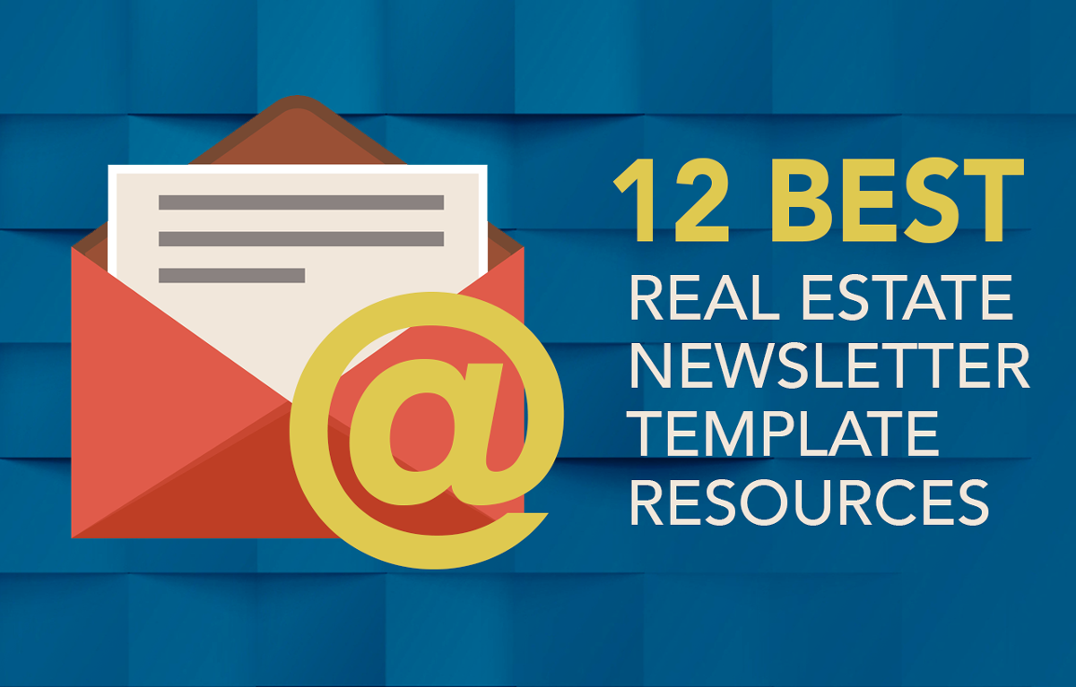 See The 12 Best Online And Print Real Estate Newsletter Templates And  Resources That Will Make