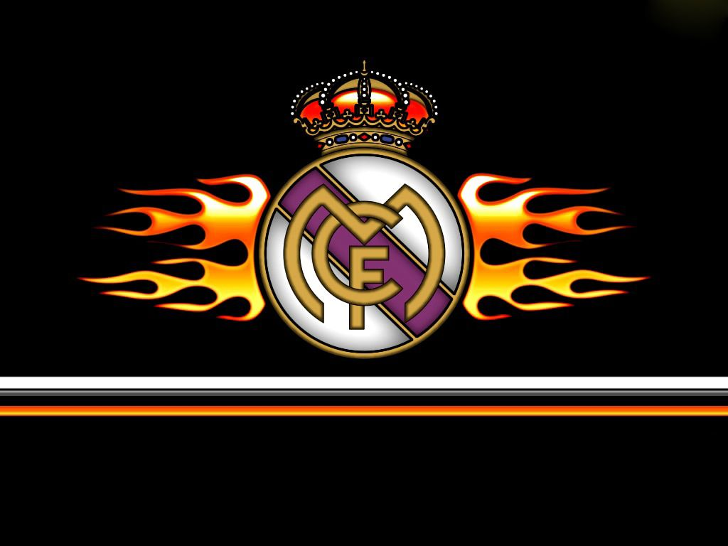 Real Madrid Fire Logo Hd Pictures Real Madrid Logo And