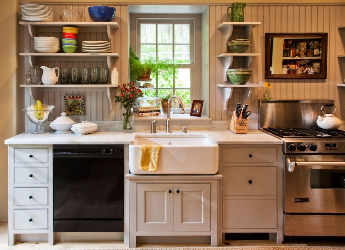 12 Vintage Kitchen Features We Were Wrong To Abandon Simple Kitchen Cabinets Simple Kitchen Kitchen Design