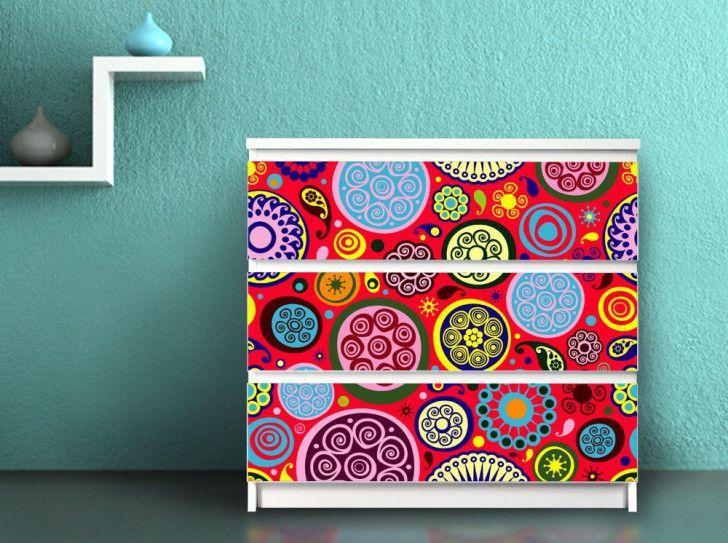 Papel pintado para decorar algo m s que las paredes casa y color mueles pinterest papel Papel pintado adhesivo para muebles